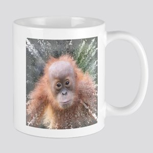 Explosive Animal - Orangutan baby Mugs
