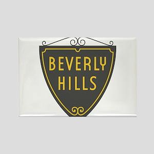 Beverly Hills, LA, California - U Rectangle Magnet