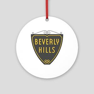 Beverly Hills, LA, California - USA Round Ornament