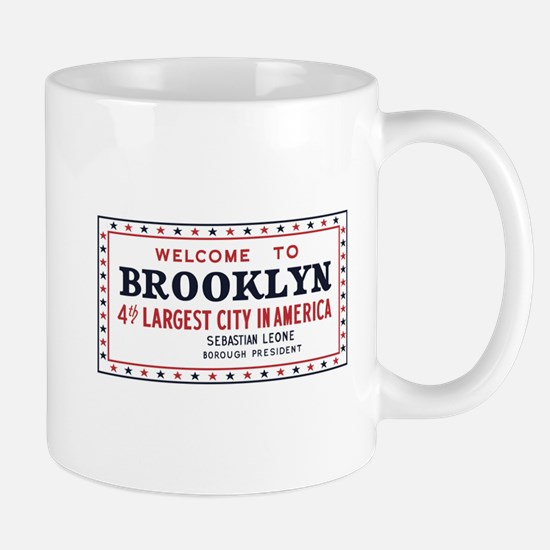 Welcome to Brooklyn, New York - USA Mug