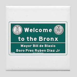 Welcome to the Bronx, New York - USA Tile Coaster