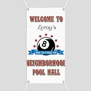 LEROY'S POOL HA... Banner