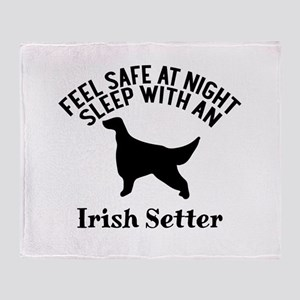 Feel Safe At Night Sleep With Irish Throw Blanket