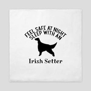 Feel Safe At Night Sleep With Irish Se Queen Duvet
