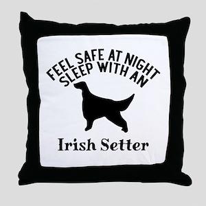 Feel Safe At Night Sleep With Irish S Throw Pillow
