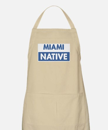 MIAMI native BBQ Apron