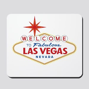 Welcome to Fabulous Las Vegas, NV Mousepad