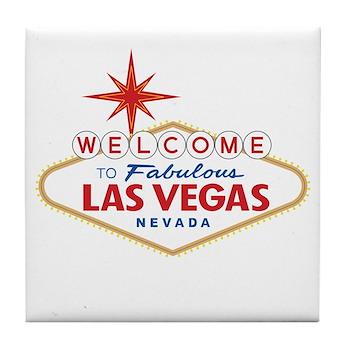 Welcome to Fabulous Las Vegas, NV Tile Coaster