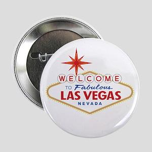 "Welcome to Fabulous Las Vegas, NV 2.25"" Button"