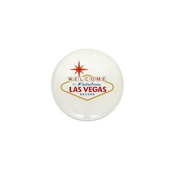 Welcome to Fabulous Las Vega Mini Button (10 pack)
