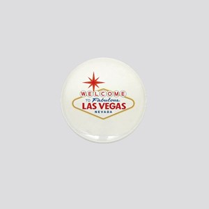 Welcome to Fabulous Las Vegas, NV Mini Button