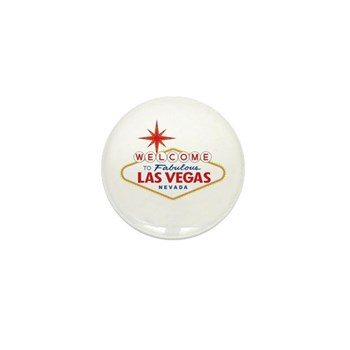 Welcome to Fabulous Las Vegas, NV Mini Button