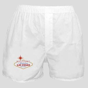 Welcome to Fabulous Las Vegas, NV Boxer Shorts