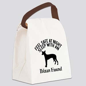 Feel Safe At Night Sleep With Ibi Canvas Lunch Bag