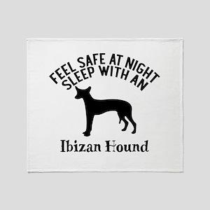 Feel Safe At Night Sleep With Ibizan Throw Blanket