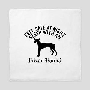Feel Safe At Night Sleep With Ibizan H Queen Duvet