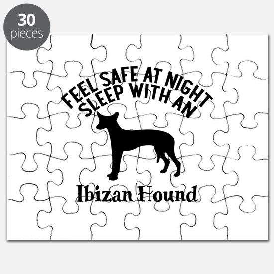 Feel Safe At Night Sleep With Ibizan Hound Puzzle