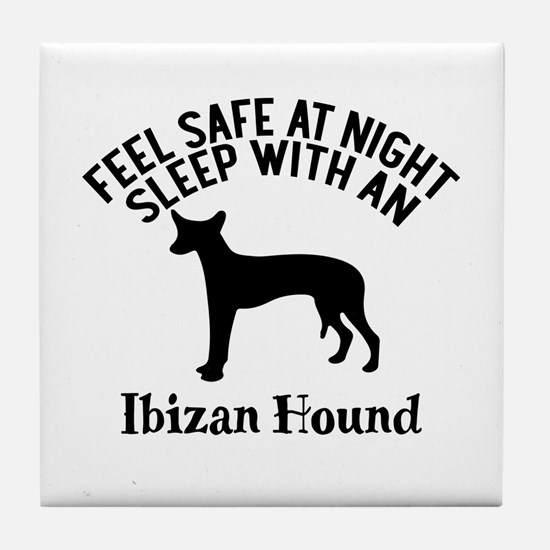 Feel Safe At Night Sleep With Ibizan Tile Coaster