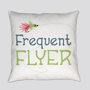 Frequent Flyer Everyday Pillow