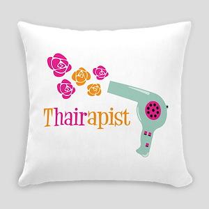 tHAIRapist Everyday Pillow