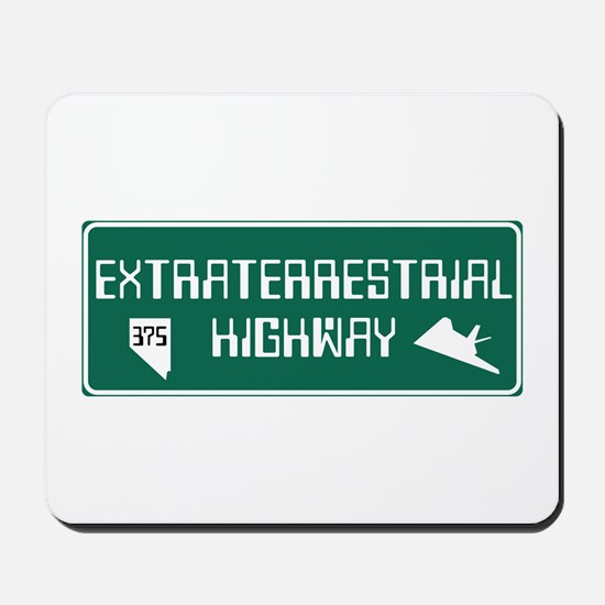 Extraterrestrial Highway, Nevada - USA Mousepad