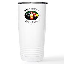 9 Ball Billiard Sports Stainless Steel Travel Mug