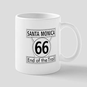 Santa Monica End of Trail, California - Mug