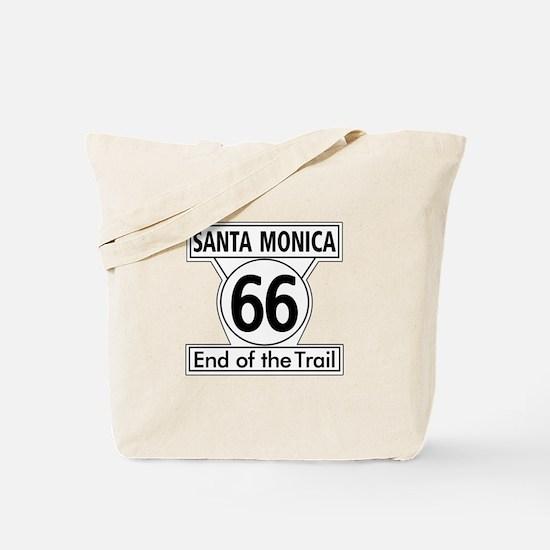 Santa Monica End of Trail, California - U Tote Bag