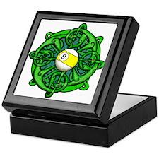 Irish Invader 9 Ball St Patricks Day Keepsake Box