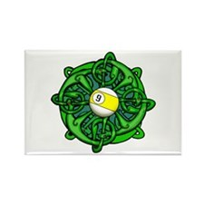 Irish Invader 9 Ball Rectangle Magnet