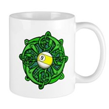 Irish Invader 9 Ball St Patricks Day Mug