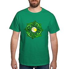 Irish Invader 9 Ball St Patricks Day Dark T-Shirt
