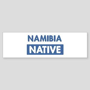 NAMIBIA native Bumper Sticker