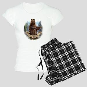 Grizzly Bear Women's Light Pajamas