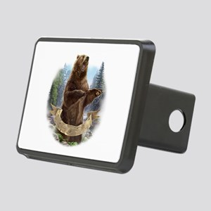 Grizzly Bear Rectangular Hitch Cover