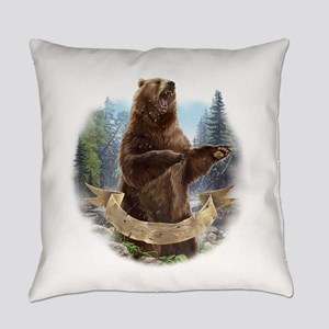 Grizzly Bear Everyday Pillow