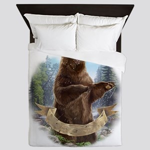 Grizzly Bear Queen Duvet