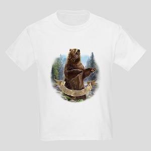 Grizzly Bear Kids Light T-Shirt