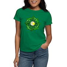 Irish Invader 9 Ball Women's Dark T-Shirt