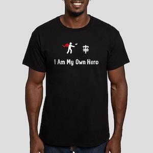 Disc Golf Hero Men's Fitted T-Shirt (dark)