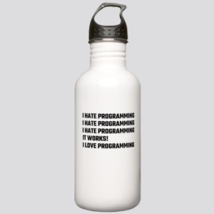 I Love Programming Stainless Water Bottle 1.0L