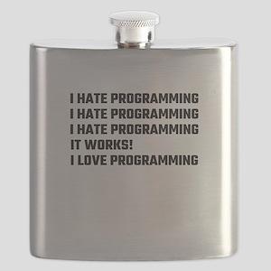 I Love Programming Flask