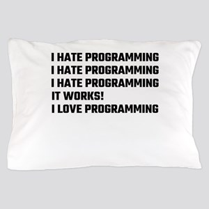 I Love Programming Pillow Case