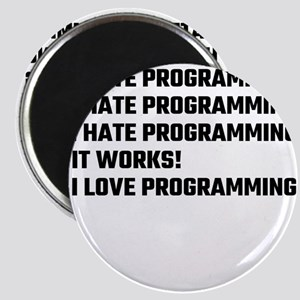 I Love Programming Magnets