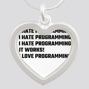 I Love Programming Necklaces