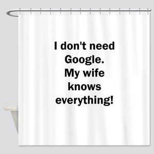 I don't need Google. My wife knows Shower Curtain