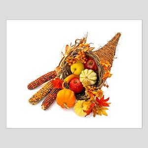 Thanksgiving Cornucopia Small Poster