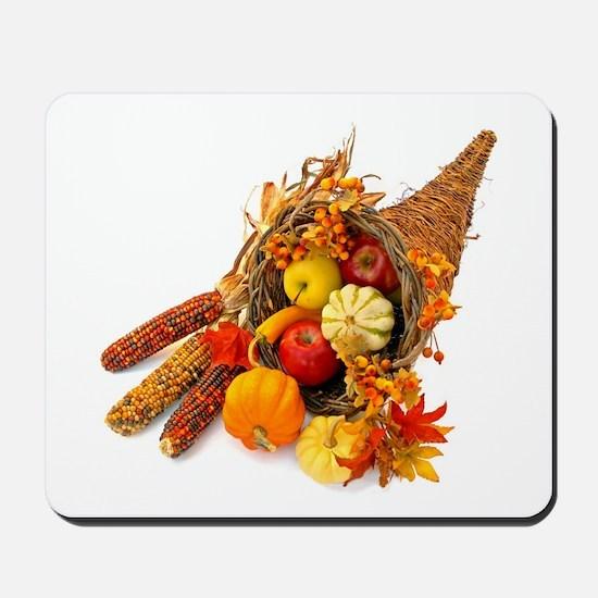 Thanksgiving Cornucopia Mousepad