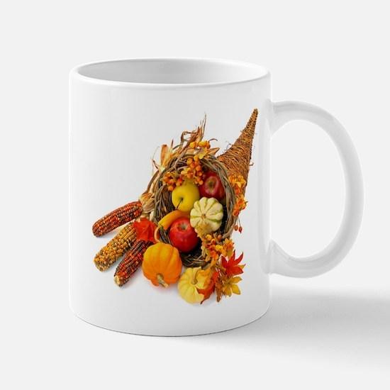 Thanksgiving Cornucopia Mug