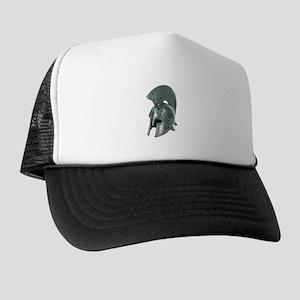 Antique Greek Helmet Trucker Hat